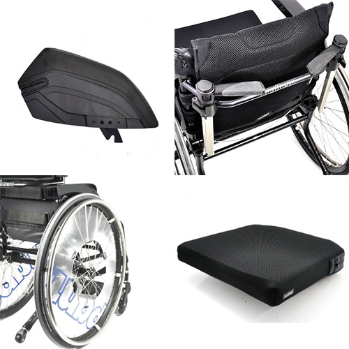 EXTENDED RANGE WHEELCHAIRS